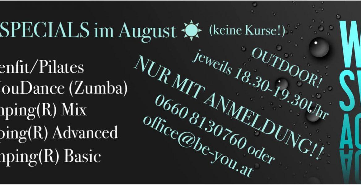 Specials August 2020